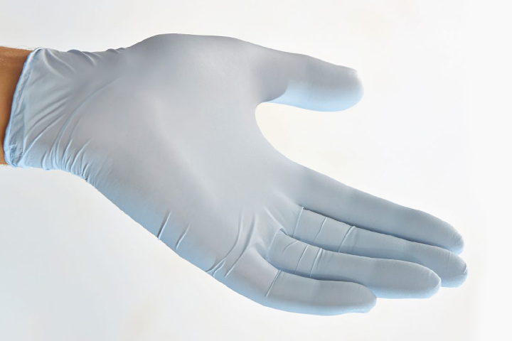 膠體燕麥涂層丁腈手套